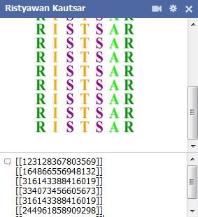 Cara Membuat Tulisan Warna Warni Di Chat Facebook